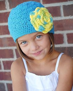 Gracie Hat Crochet Pattern (Permission to sell all finished products). $4.99, via Etsy.