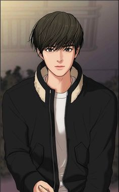 Suho from Secret Angel Webtoon