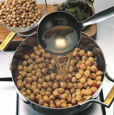 Garbanzo/Tomato Soup (great for leftover garbanzo salad)
