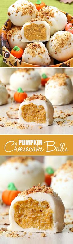 All the Best Fall Flavors in One Perfect Bite! Pumpkin and Cream Cheese combine with White Chocolate, Graham Crackers, and Gingersnaps for the Ultimate Fall dessert.