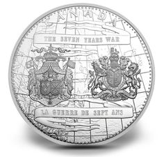 Fine Silver One Kilo Coin - 250th Anniversary of the End of the Seven Years War - Mintage: 500 (2013)