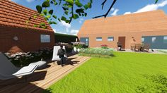 3d tuinontwerp private tuin