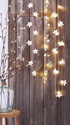 String Star Lights Wallpaper