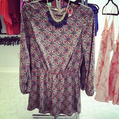Check out our Rompers! Great fall Colors! Just $30 at TBNT