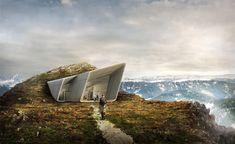 Messner Mountain Museum Corones by Zaha Hadid