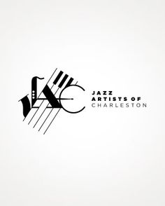 logo for the Jazz Artists of Charleston #logo #Identity #music