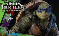 The Prime 1 Studio TMNT Out of the Shadows Leonardo Statue is available at Sideshow.com for fans of Teenage Mutant Ninja Turtles.