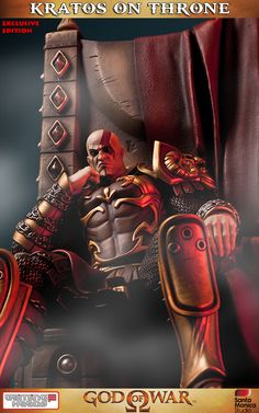 Kratos on Throne Exclusive Ghost Rider Wallpaper, Thor Norse, King On Throne, Kratos God Of War, Bambi Disney, Iron Man Avengers, War Tattoo, 4 Wallpaper, Mortal Combat