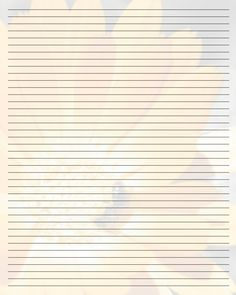 Good Printable Writing Paper (112) By Aimee Valentine Art.deviantart.com Pertaining To Lined Stationary Template