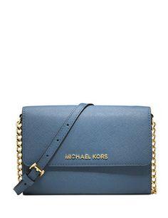 Michael Michael Kors Jet Set Saffiano Leather Crossbody