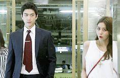 High Society   Sangryusawhe   Uee   Sung Joon   Kdrama   Gif