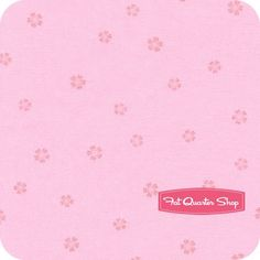 Sweet Things Pink Tossed Blossoms Yardage SKU# LH12158-PINK