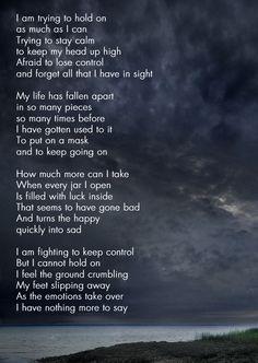 In Control - A poem by HenriekeC