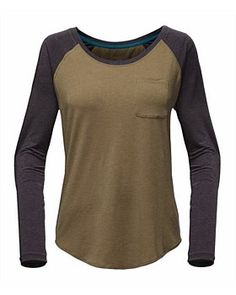 The North Face. , The North Face In A Flash Raglan Top - Women's North Face Women, The North Face, Raglan Shirts, North Face Jacket, Long Sleeve Shirts, Tees, Clothes, Hiking Outfits, Activewear Tops