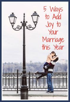 5 Ways to Add Joy to Your Marriage This Year - Make your marriage a priority this year - here are 5 simple ways to get started. #Marriage #MarriedLife   https://twitter.com/NeilVenketramen