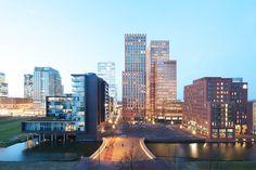Dok architecten, Arjen Schmitz · Lex van Deldenbrug - Zuidas Amsterdam · Divisare