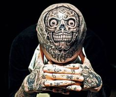 Top 5 World's Strangest Tattoos - http://sicktattoos.org/top-5-worlds-strangest-tattoos/