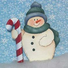 1000 images about paint country on pinterest tole for How to paint snowmen