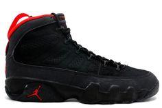 newest d694e 5b466 Air Jordan 9 Retro Original (OG)-Black Dark Charcoal-True Red Shoes,The  symbolic