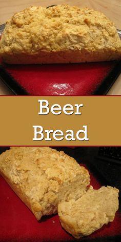 beer bread/beer bread recipe/beer bread easy/beer bread recipe easy/beer bread dip/beer bread recipe tastefully simple/beer bread self rising flour/beer bread recipe 3 ingredients/Beer Is Bread .com/allforyou/beerbread Beer Cheese Bread Recipe, Dip For Beer Bread, Honey Beer Bread, Easy Bread Recipes, Cooking Recipes, Beer Bread Recipe Tastefully Simple, No Yeast Dinner Rolls, Gimme Some Oven, Garlic Cheese