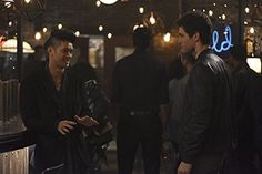 Harry Shum Jr. and Matthew Daddario in Shadowhunters: The Mortal Instruments (2016)