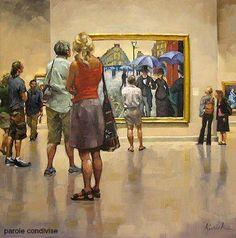 La vita è come una mostra di quadri  con pochi originali e molte copie.