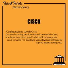 Cisco: configurazione switch Cisco