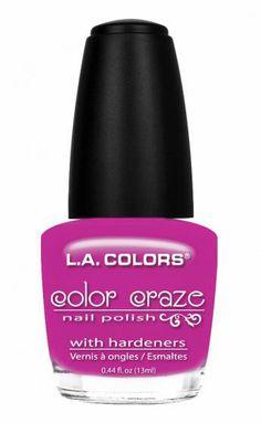 L.A. Colors Color Craze Fiji Purple Nail Polish