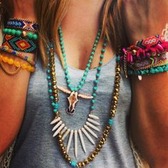Perfect summer arm and neck party! www.cheekypeachathens.com