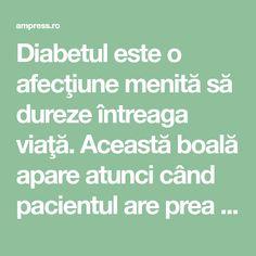 Diabetul este o afecţiune menită să dureze întreaga viaţă. Această boală apare atunci când pacientul are prea multă glucoză în sânge, deoarece pancreasul nu poate secreta suficientă insulină. Există 3 tipuri de diabet – tipul 1, atunci când organismul nu produce suficientă insulină; tipul 2… Diabetes, Face, The Face, Faces, Facial