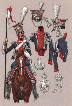 Lancier Polonais de la Garde. (Polish Lancers)