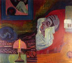 1920 Ernst Ludwig Kirchner Malade dans la nuit