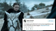 Lyanna Mormont is basically everyone's new favourite 'Game of Thrones' character Lady Mormont, Lyanna Mormont, House Mormont, Winter Is Here, Winter Is Coming, Hbo Got, Game Of Thrones Instagram, Jon Snow And Daenerys, Georgie Henley