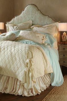 Balloon Bedskirt Extra-long -this is gorgeous!