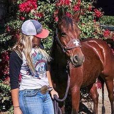 """Check out @barrelchick10 rocking our Sugar Skull tee!  #barrelracing #barrelracer #cowgirl #originalcowgirl #originalcowgirlclothingco #wesa #denvermart…"""
