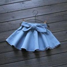 Baby Girl Skirts, Baby Skirt, Little Girl Dresses, Baby Dress Design, Baby Girl Dress Patterns, Baby Girl Fashion, Kids Fashion, Skirts For Kids, Cute Baby Clothes
