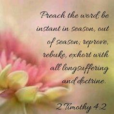 2 Timothy 4:2 KJV