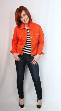 Outfit entirely from the thrift store! jacket $4, top $3, jeans $6, shoes $4   http://thriftandshout.blogspot.com