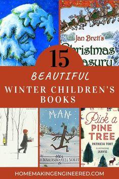 15 Children's Winter Books You'll Love Forever – Homemaking Engineered