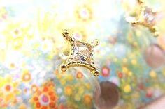 露天拍賣 日本究極!日本製【華麗輕舞 夏洛特公主 CZ鑽 簡約 氣質 】夾式耳環 項鏈