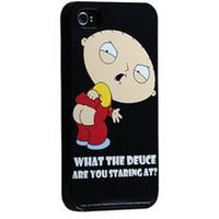Family Guy Hard Case for iPhone 4 & 4S in Deuce Print