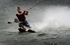 op het water kan je waterskiën enz.