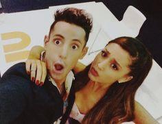 Ariana and Frankie Grande Ariana Grande, Frankie Grande, Brother And Sister Love, Fashion Idol, Dangerous Woman, Beauty Inside, Celebs, Celebrities, Classic Beauty