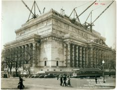 National Archives building being constructed on May 1, 1934.