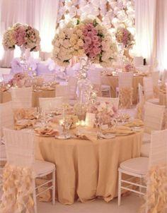 Милая светлая и богатая свадьба.