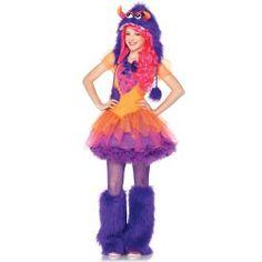 Most Popular Halloween Costumes for teen Girls: Fur-ocious Frankie Teen Costume #Halloween #Costumes