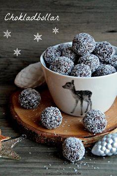 mellimille: Julgodis Nr.6: Chokladbollar mit Kokos