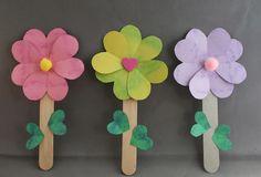 Öğretmenimize Çiçek (10 Adet Sanat Etkinliği)