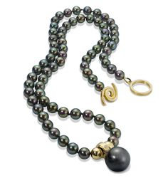 Akoya Pearl Necklace with Tahitian Pearl Pendent.jpg