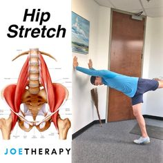 The Best Hip, Abs, Lats Stretch You're Not Doing! - ☝️I was playing around with this movement the other day, and it felt AWESOME! Leg Stretches For Flexibility, Hip Stretches, Stretching Exercises, Qi Gong, Hip Pain, Back Pain, Fitness Workouts, Fat Workout, Yoga